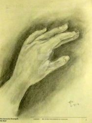 My Hand, Scars and All by BrushstrokesbyNiki