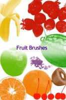 Fruit Photoshop Brushes 2 by colormist