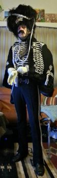 Death's head hussar uniform pic5 by ozoneocean