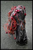 FISHING NET ON A ROPE by IME54-ART