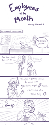 Employees of The Month [part 2] by firehorse6