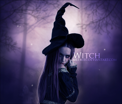 Witch by MeemieArt