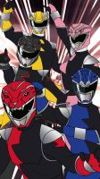 PR HyperForce Mobile Wallpaper by RiderB0y