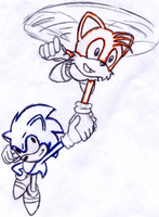 Sonic And Tails by Luster11