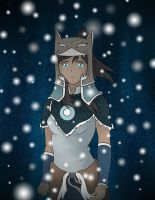 Avatar Korra Water Tribe Warrior by KatieBrownie