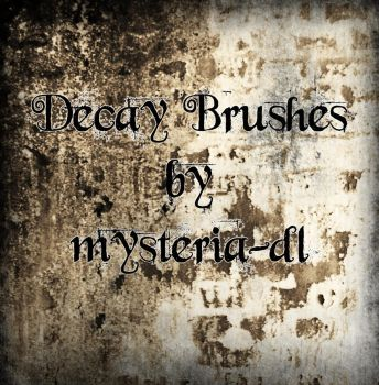 Decay Brushes by mysteria-dl