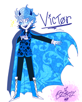 My Weird OC: Victor by MikuBlazeTheKat