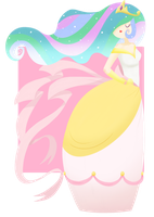 Princess Celestia by CosmicPonye