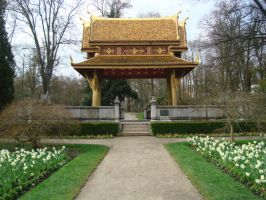 Stock: Chinese Temple by FantasyFailure-Stock