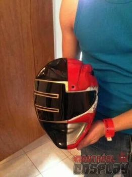 MMPR Red/Gold Zeo Hybrid by MontrealCosplay