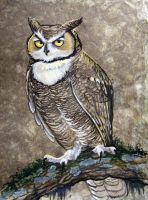 MammothHunters Great Horned Owl by HouseofChabrier