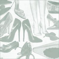 photoshop brushes: shoes by januarygrrl