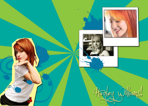 Hayley Williams Wallpaper by Nmpingui