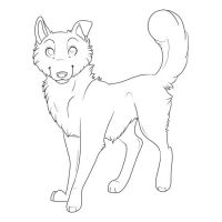 Free Lineart by Feiste