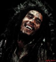 Bob Marley Poster by AndyJacko