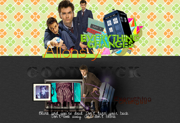 Doctor Who Headers by MischiefIdea