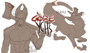 Halloween Gore YCH's /CLOSED by loriLUNACY