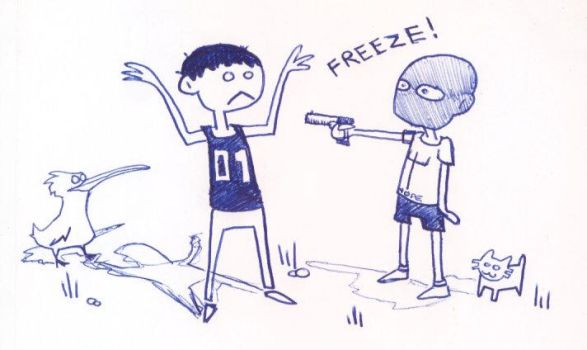 Freeze by monokoma