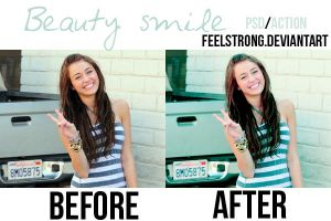 Beauty Smile psd-action by FeelStrong
