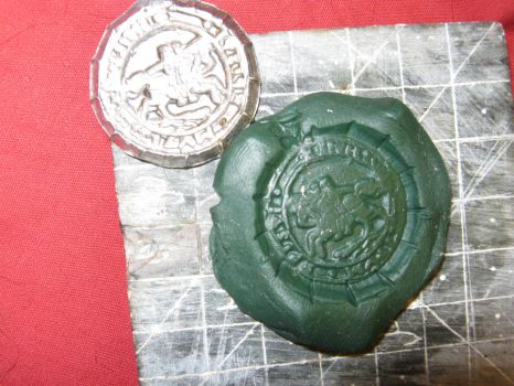 Templar Wax Seal by vonmeer