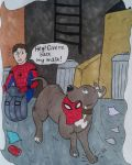 Spidey and Tessa by she-wolf99