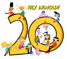 Hey Arnold 20th Anniversary by JosephSnap101