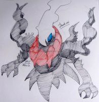 Darkrai [Fanart] by Foziz105