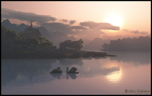 Tranquil Evening by jbjdesigns