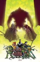 TMNT_Secret History of the Foot Clan #4_Solicit.v by Santolouco