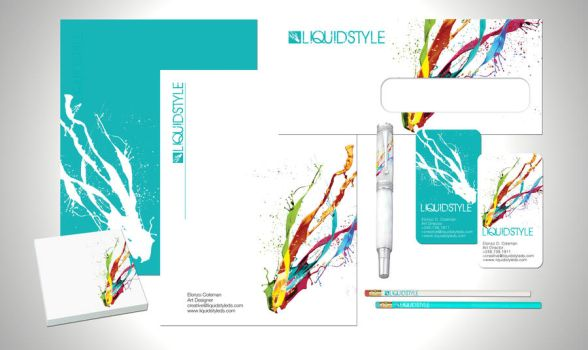 Liquidstyle Letterhead by LiquidstyleDS