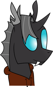 Request #2 - DarkLordSnuffles bugpone in a hoodie by RAGErER