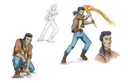 Full Body Gesture Redux - Kitchi by Aui-song