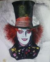 Mad Hatter by psychicpsyco91
