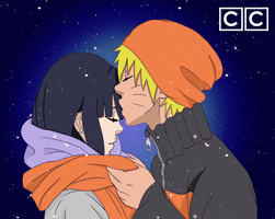 Naruto Shares his Warmth by CasualColors
