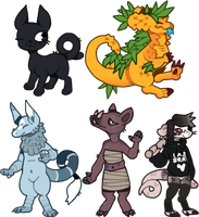 chibi supremes by hatchl