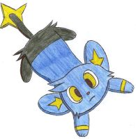 flattened shinx by Pikacshu