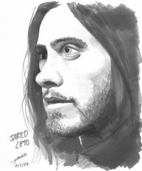 Jared Leto by Maria210596