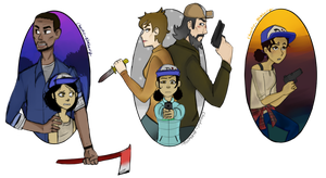 TWD seasons by Chaotic-Booberry