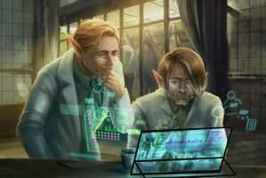 CFD running the informatzions by EmmaSeptimus
