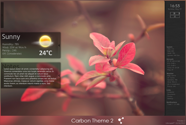 Carbon Theme 2 - Preview 2 by UltimateRT