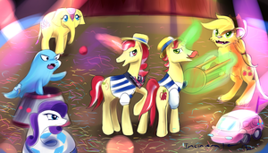 Ringling brother?  Speedpaint. by Incinerater