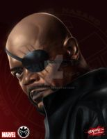 Nick Fury by debuhista