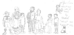 May 22nd - The World of Herge by kanyiko