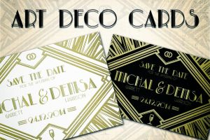 Art Deco Cards by absolut2305