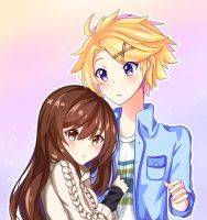 MC x Yoosung by LightLash247
