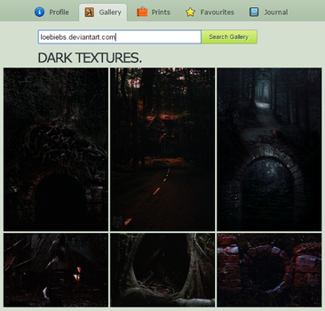 +Dark Textures by LoeBiebs