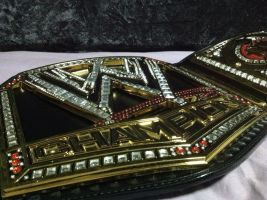 NEW WWE CHAMPIONSHIP by imranbecks