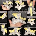 MLP 6 inch mini Derpy Hooves beanie {Commission} by RubioWolf