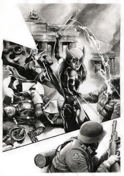 All New Wolverine/Secret Empire - SOLD by dimitriskoskinas