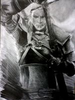 Geralt of Rivia - The Witcher by titinacho